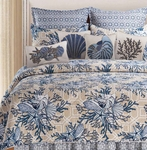Indigo Sound Quilt Bedding