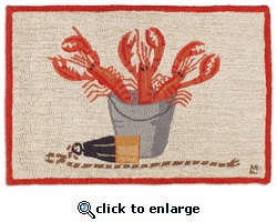 Lobster Catch 2 x 3 Rug