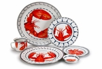 Lobster Dinner Enamelware