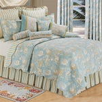 Natural Shells Quilt Bedding