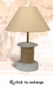 Reel Table Lamp