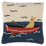"Row Your Boat 18"" Pillow"