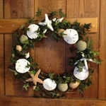 Seashell Wreaths for Coastal Accent