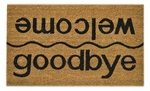 Welcome Goodbye Mat