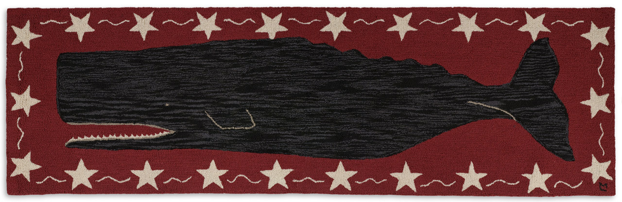 Whale Rug Runner Uniquely Modern Rugs