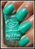Chick Gavie Green Nail Polish