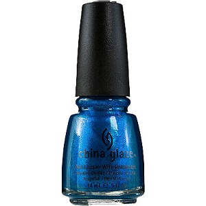 China Glaze Nail Polish, Blue Iguana 963