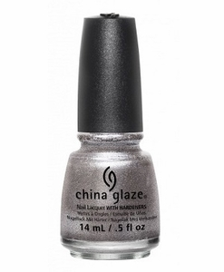 China Glaze Nail Polish, Check Out The Silver Fox 1413
