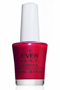 China Glaze EverGlaze Extended Wear Nail Lacquer - Bleeding Love