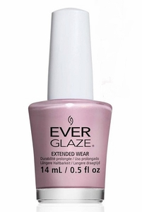 China Glaze EverGlaze Extended Wear Nail Lacquer - Flash Mauve