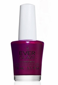 China Glaze EverGlaze Extended Wear Nail Lacquer - I'm Not Bordeaux