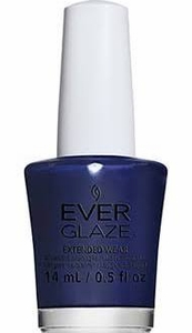 China Glaze EverGlaze Extended Wear Nail Lacquer - Navy Night