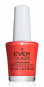 ChGl EverGlaze Extended Wear Nail Lacquer, Pretty Poppy