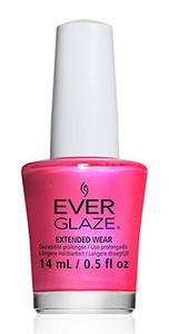 China Glaze EverGlaze Extended Wear Nail Lacquer - Rethink Pink
