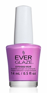 China Glaze EverGlaze Extended Wear Nail Lacquer - Ultra Orchid