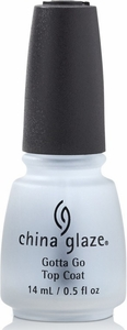 China Glaze Gotta Go Fast Drying Top Coat