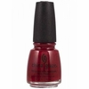 China Glaze Nail Polish, Masai Red 152