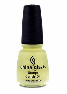 China Glaze Orange Cuticle Oil