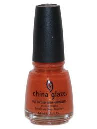China Glaze Nail Polish, Orange Marmalade 713