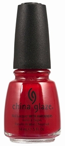 China Glaze Nail Polish, Paint The Town Red 554