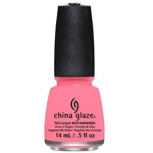 China Glaze Nail Polish, Petal To The Metal 1292