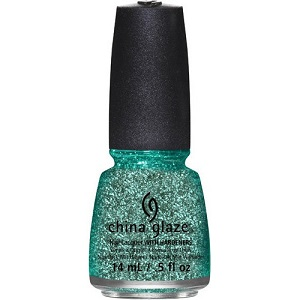 China Glaze Nail Polish, Pine-ing For Glitter 1349