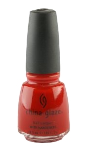 China Glaze Nail Polish, Red Velvet CGX041
