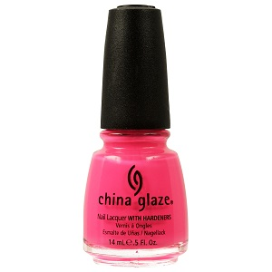 China Glaze Nail Polish, Shocking Pink 1003