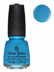 China Glaze Nail Polish, So Blue Without You 1258