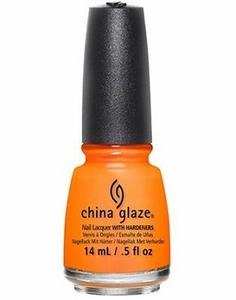 China Glaze Nail Polish, Stoked To Be Soaked 1303