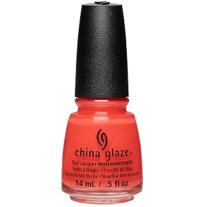 China Glaze Nail Polish, 'Tis The Sea-Sun 1487