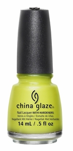 China Glaze Nail Polish, Trip of A Lime Time 1376
