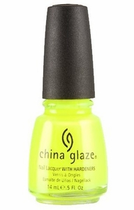 China Glaze Nail Polish, Yellow Polka Dot Bikini 875