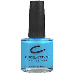 Creative Nail Design Nail Polish, Hot Pop Blue 346