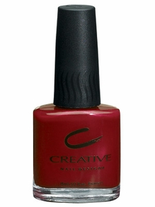 Creative Nail Design Moroccan Ruby Nail Polish 113