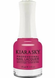 Kiara Sky Nail Polish, Don't Pink About It N446