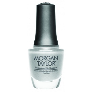 Morgan Taylor Nail Polish, Gifted In Platinum 194