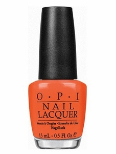 OPI Nail Polish, A Good Man-darin Is Hard To Find NLH47