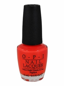 OPI Nail Polish, Atomic Orange NLB39