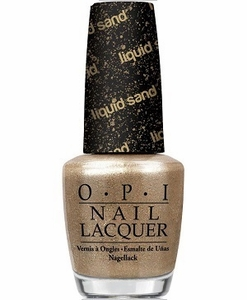 OPI Liquid Sand Textured, Matte Nail Polish - Honey Ryder NLM53