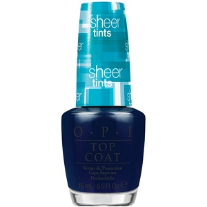 OPI Sheer Tints Top Coat, I Can Teal You Like Me NTS04