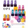 OPI Sheer Tints Collection, Summer 2014