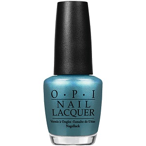 OPI Nail Polish, Teal The Cows Come Home NLB54