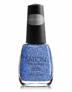 Sation Multi-Glitter Nail Polish, Can Buy Me Love 3004