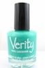 Verity Nail Lacquer - Frosty Turquoise B39