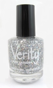 Verity Nail Lacquer, Rich Silver G14