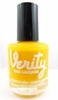 Verity Nail Lacquer - Sassy Yellow B21
