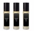 Designer Body Oil - FOR MEN Buy 3
