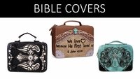 BIBLE COVERS EMBELLISHED