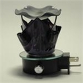 Black Artistic Glass Aroma Lamp FREE FRAGRANCE